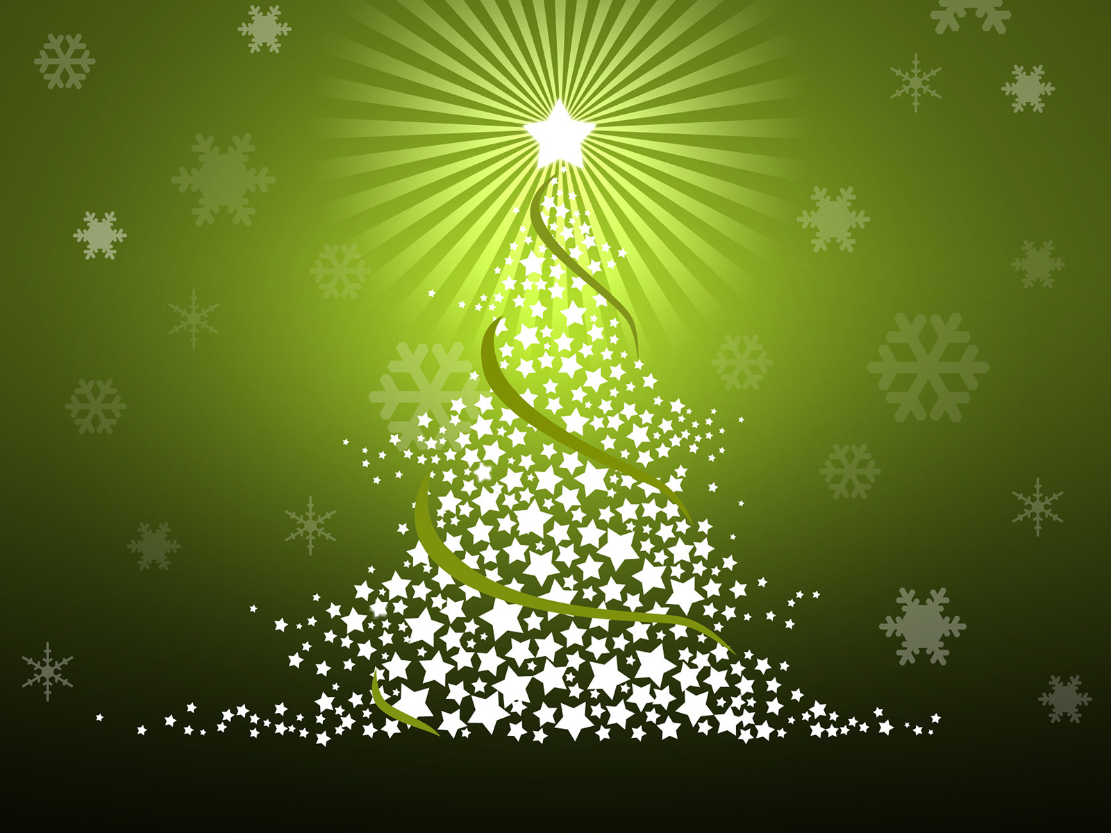 Free Christmas Wallpapers and PowerPoint Backgrounds Pictures Green