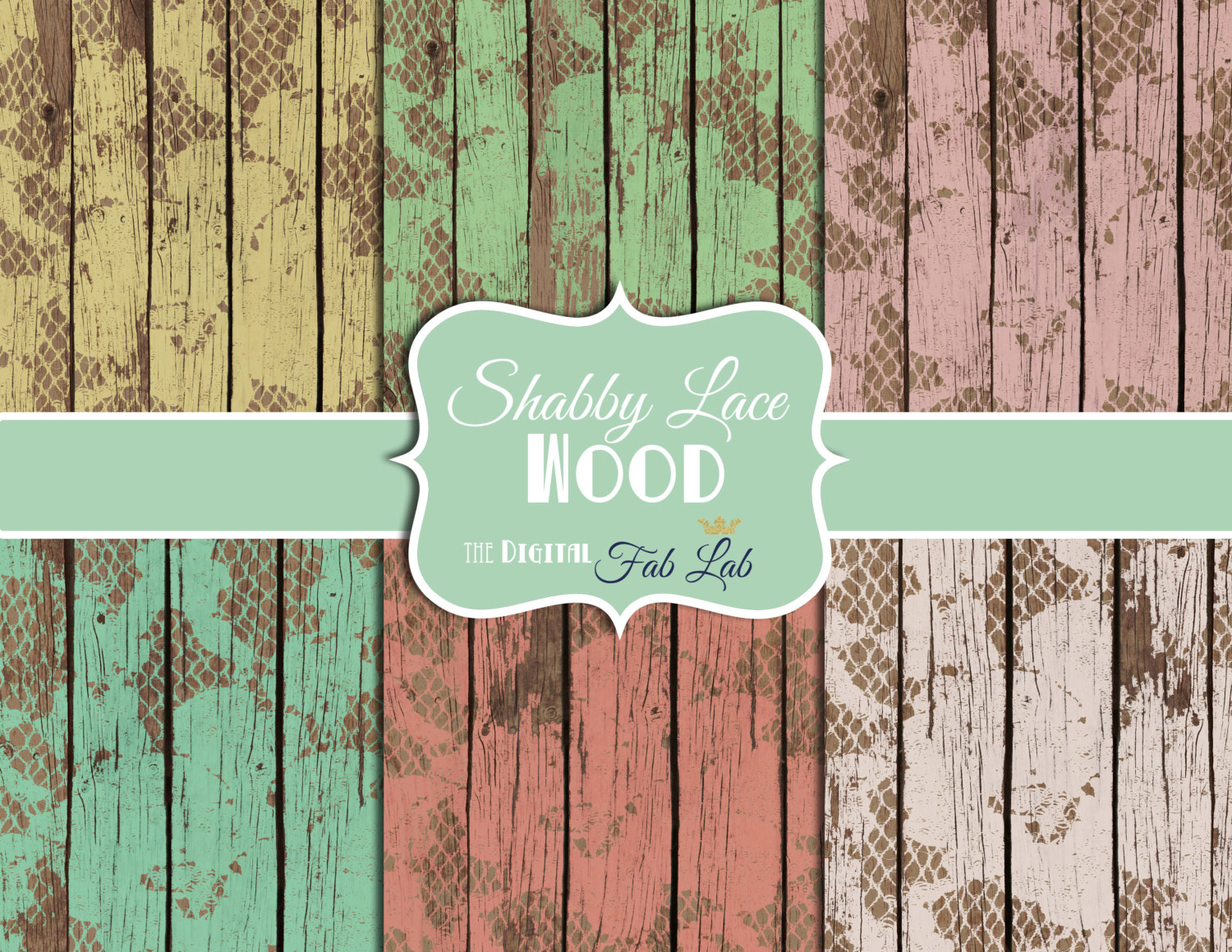 Vintage Rustic Wood Background Clipart