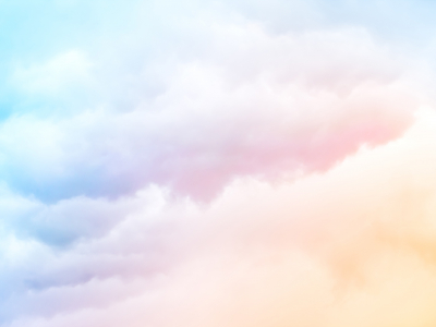 Pastel Clouds Background
