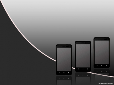 IPhone Mobile Backgrounds For PowerPoint  Technology PPT Templates