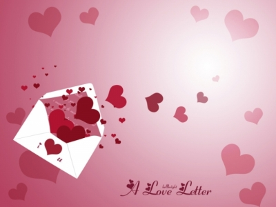 Love Letter Download PowerPoint Backgrounds  PPT Backgrounds