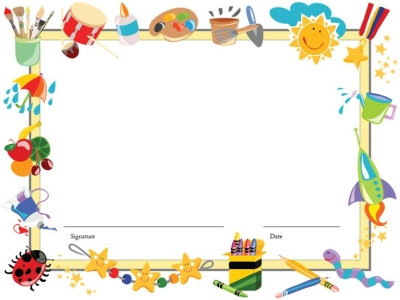 Template For Kids Editable  Diploma Certificate Ppt Templates For