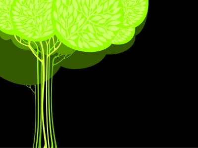 trees Backgrounds  Abstract, Black, Green, Nature  PPT Backgrounds #4697