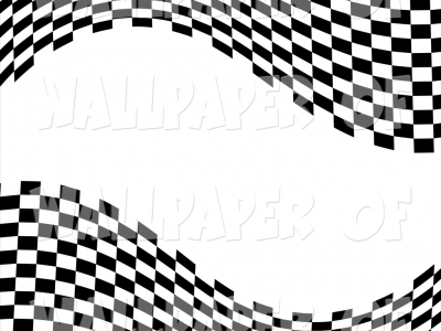 Wavy Checkered Flag Background Race Start Flag On Ground Racing Flag