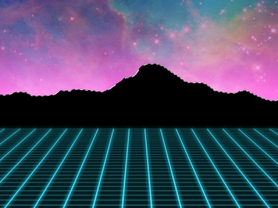 1980s Neon Background Use The Lasso Tool To Hand