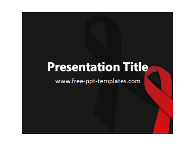 AIDS PPT Template  Free PowerPoint Templates