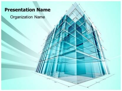 Architectural Engineering PowerPoint Template Background