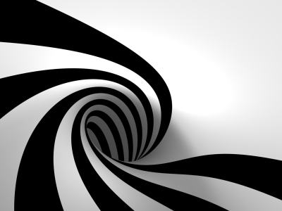 Black And White Whirlpool Desktop Wallpapers Hd