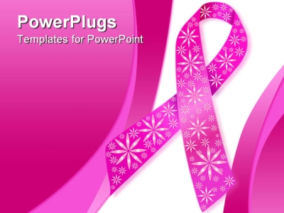 Breast Cancer Awareness Powerpoint Background Ppt Template  Breast