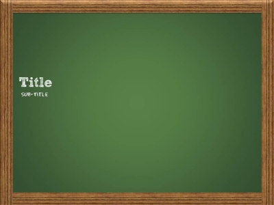 Chalkboard template  Power point template  Pinterest #4910