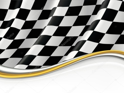 Checkered Flag, Vector Background — Stock Vector © Natis76