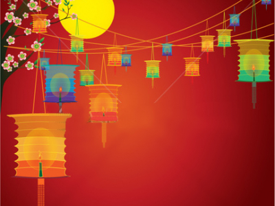Chinese Backgrounds Powerpoint Free download lantern festival   #5807