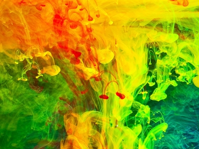 Colorful Paint Fumes, Art Background Wallpaper By JennyMari