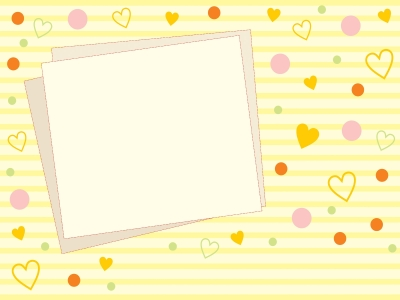 Cute Heart Backgrounds  PPT Backgrounds