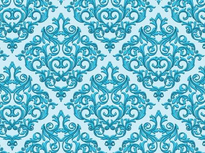 Damask Wallpaper Seamless Background Baby Blue Background Or Wallpaper   #4879