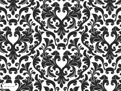 Download image Black And White Damask Wallpaper PC, Android, iPhone   #4861