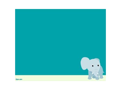 Elephant PowerPoint Template PPT Template