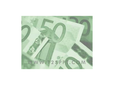 Euro Money Cur Money Background For Powerpoint Free Powerpoint