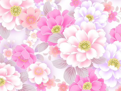 Floral Background Wallpaper
