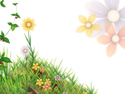 flower powerpoint template Power Point Backgrounds, Animated flower   #6513