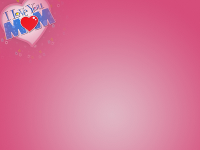 Free I Love Mom Backgrounds For PowerPoint  Events PPT Templates