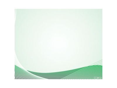 Free Nice Green Curves PowerPoint Template