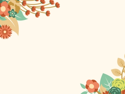 Free Orange Floral Summer Powerpoint Template Is A Other Nice Floral