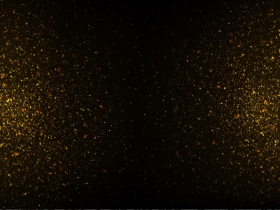 Free Strass Vector, Gold Glitter Texture On Black Background   #5843