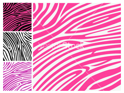 Free Zebra Animal Template Backgrounds For PowerPoint Animal PPT   #5588