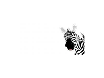 Free Zebra Animal Template Backgrounds For PowerPoint Animal PPT   #5614