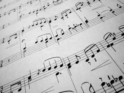 Go Back > Gallery For > Classical Sheet Music Background