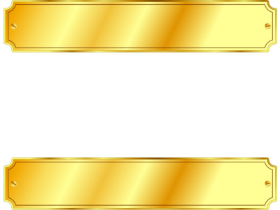 Gold Metal Sign PPT Backgrounds