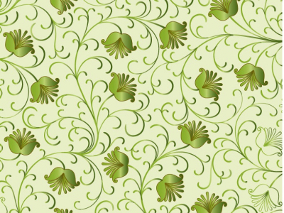 Green Floral Background Vector  Free Vector Graphics  All Free Web