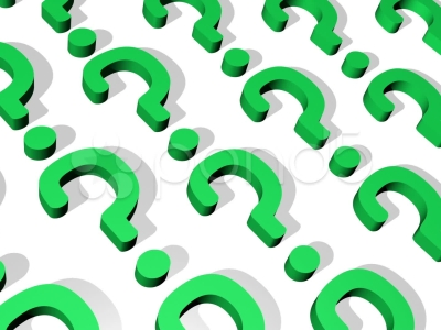 Green Question Marks Background Question Mark Background Loop