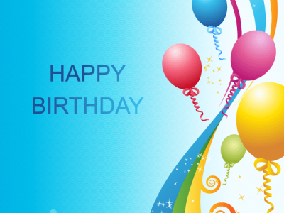 Happy Birthday Background Vector Template  123Freevectors