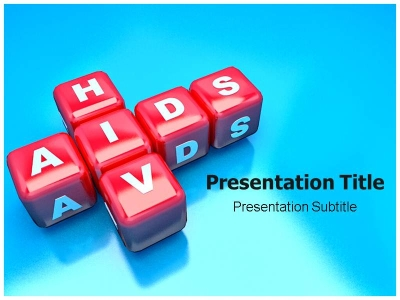 HIV Aids PowerPoint (PPT) Template, PowerPoint Slides, Template