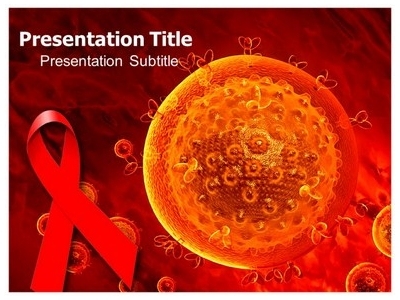 Hiv Aids Virus PowerPoint Templates And Backgrounds