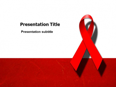 HIV Powerpoint(PPT) Templates  PPT Template For HIV Virus Powerpoint