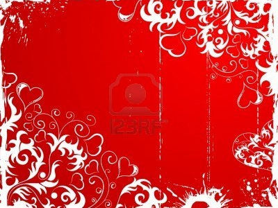 Illustration Valentines Day Background Frame With Hearts Element