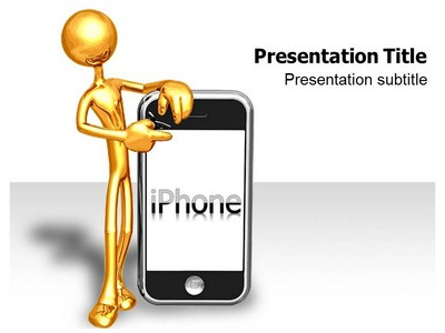 Iphone Powerpoint(PPT) Templates  PPT Background For Iphone