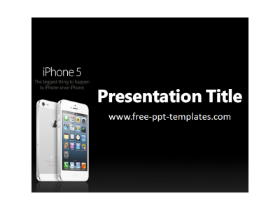 IPhone PPT Template  Free PowerPoint Templates