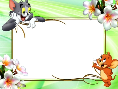 Kids Frame Backgrounds For PowerPoint Border and Frame PPT Templates   #5584