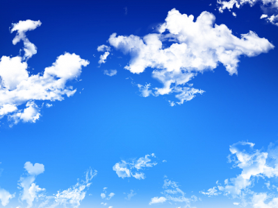 Large preview (1280x1024px): Blue sky background #3850