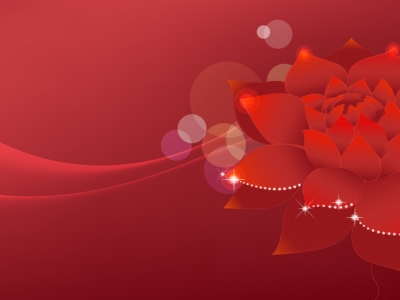 Lotus Flowers Dream Backgrounds  Flowers, Red  PPT Backgrounds