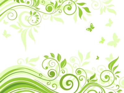 Name: Abstract Floral Background