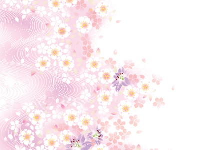 Pale Floral Background  Free Vector Graphic Download