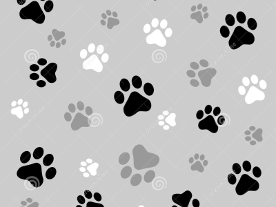 Paw Prints Background Stock Images  Image: 6936104