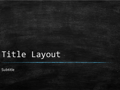 Pics Photos  Chalkboard Background Powerpoint Templates #4893