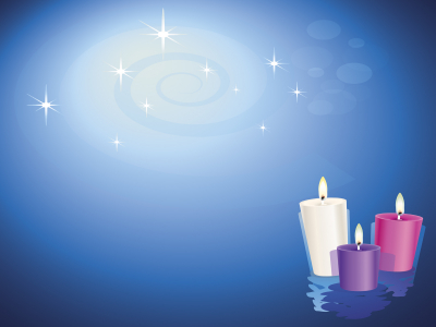 Pics Photos  Christian Candles Ppt Backgrounds Religious Powerpoint