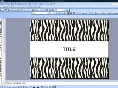 Pics Photos  Zebra Backgrounds For Powerpoint